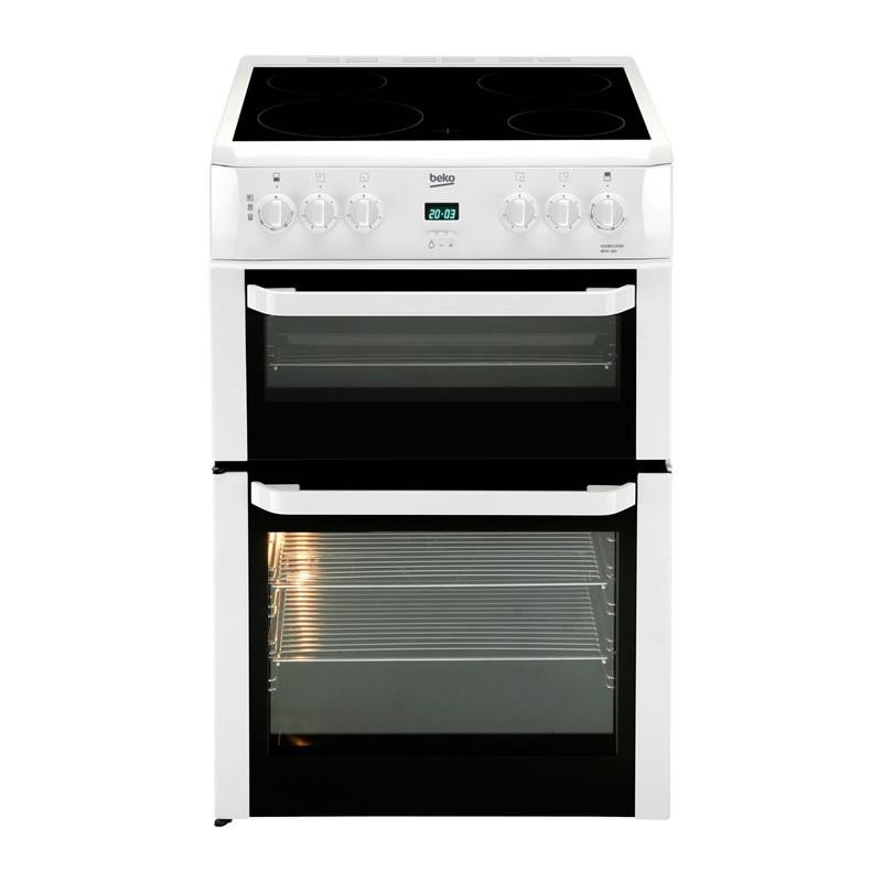 Electric Cookers Freestanding ~ Beko freestanding cm double oven electric cooker