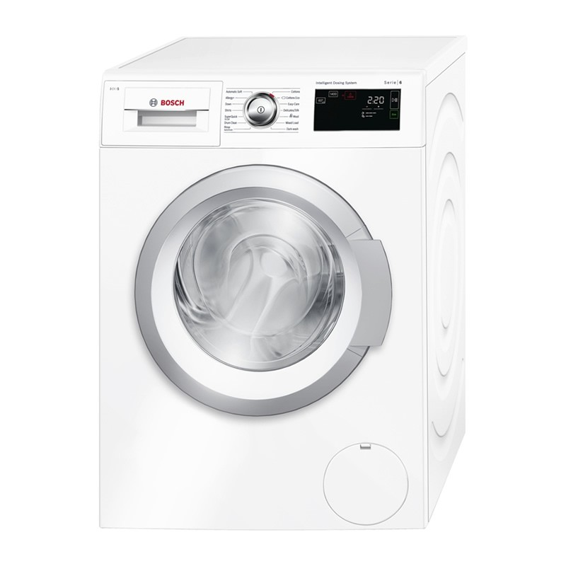 bosch i dos 8kg 1400rpm automatic washing machine. Black Bedroom Furniture Sets. Home Design Ideas