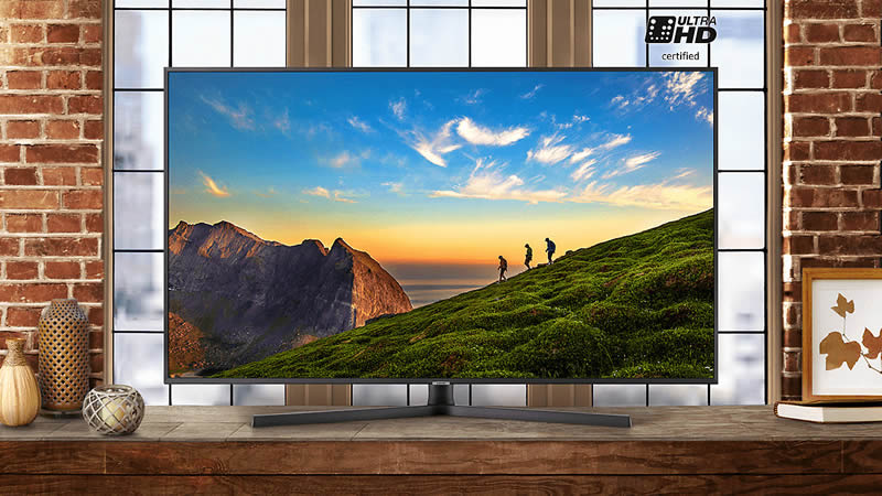 43'' Ultra HD certified TV