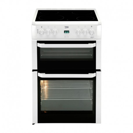 BEKO Freestanding 60cm Double Oven Electric Cooker