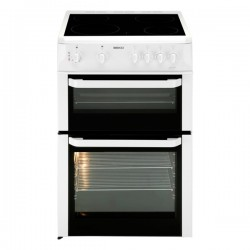 BEKO 60cm twin cavity electric cooker